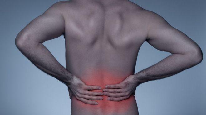 Espalda de un hombre