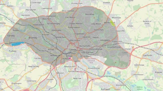 Leeds Clean Air Zone Approval Given For 50 Charge Bbc News