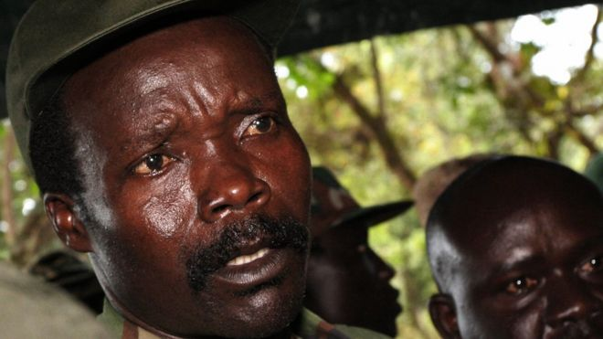 Leader of the Lord's Resistance Army (LRA), Joseph Kony.