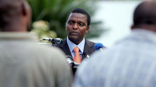 Azarias Ruberwa, chef du Rassemblement congolais pour la démocratie (RCD), ancien mouvement rebelle devenu parti politique.