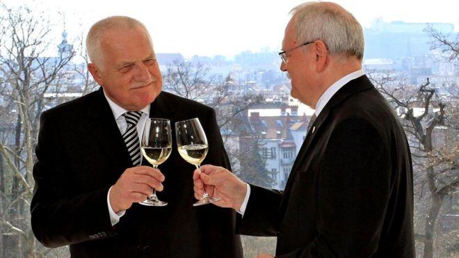 Президенты Чехии и Словакии