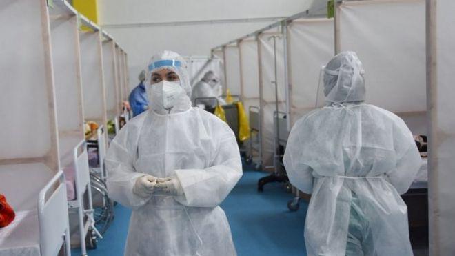 وزارة الصحة قالت إن المستشفيات الميدانية الخاصة لم تعد كافية.