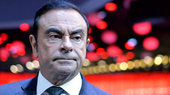 nissan boss carlos ghosn arrested over misconduct bbc news