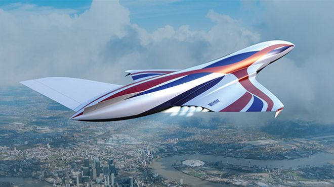 UK's air-breathing rocket engine set for key tests - BBC News