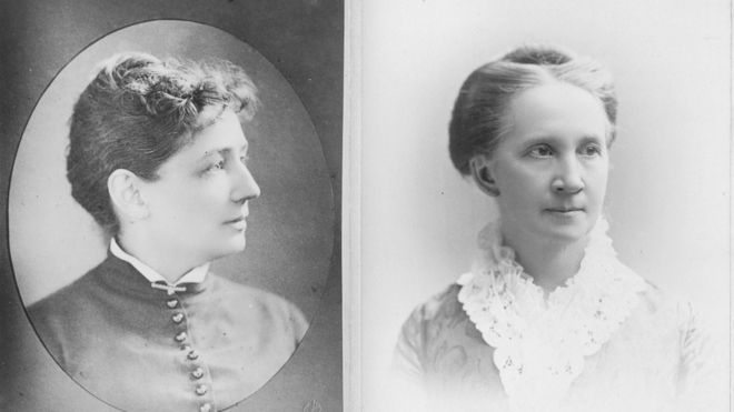 Victoria Claflin Woodhull and Belva A Lockwood