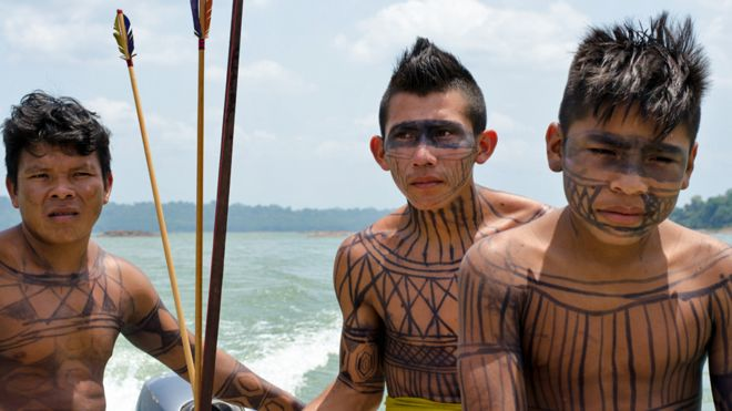 Image Caption The Munduruku Are Wary Of Plans To Build More Dams