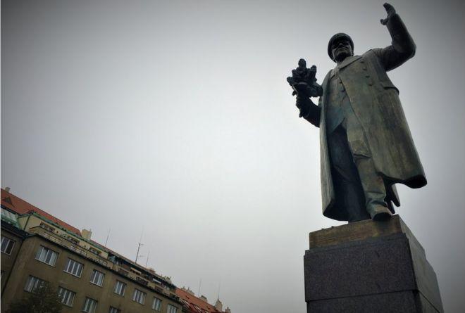 Konev statue