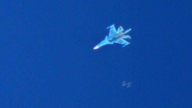 Rus uçakları İdlib'de hava operasyonu düzenledi