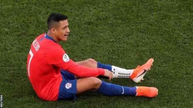 Mchezaji wa Manchester United Alexis Sanchez