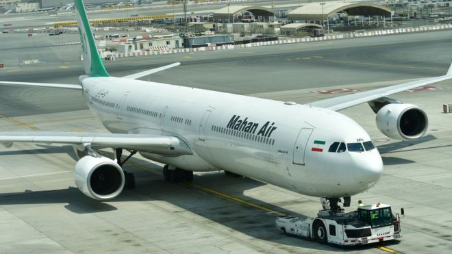 mahan air iran