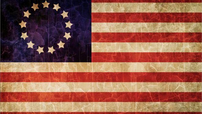 La Histórica Bandera De Estados Unidos Que Para Algunos Simboliza
