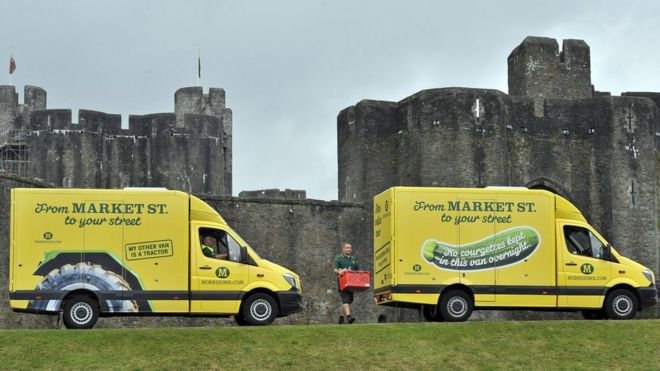 7a02d265523940 Morrisons to expand home delivery service after new Ocado deal - BBC ...