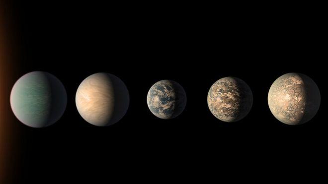 Los exoplanetas que pueden tener tanta o más agua que nuestra Tierra (bbc.com)