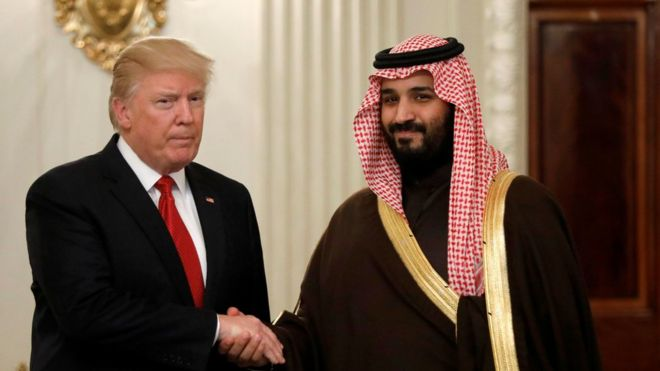 لماذا تنفق السعودية مبالغ طائلة على صفقات السلاح الأمريكي؟ _96107091_038477052-1