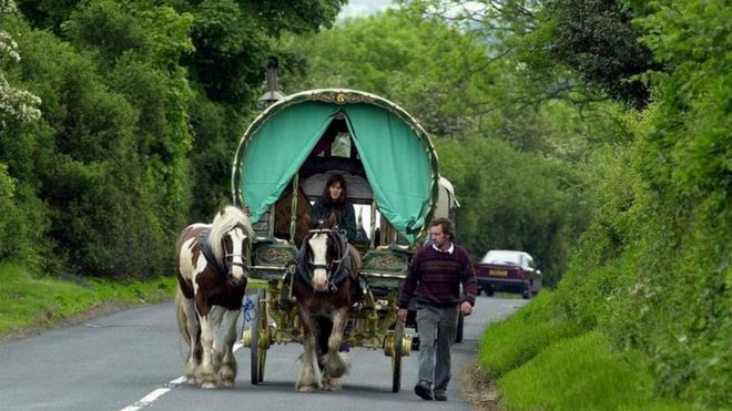 Stopping places for Appleby Horse Fair visitors - BBC News