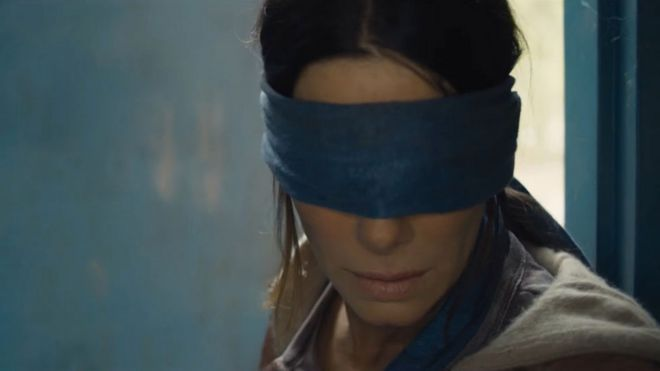 My sleepless nights over Sandra Bullock's blindfold' - BBC News