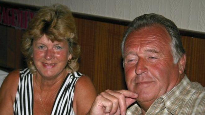 Eileen Swannack and John Welch