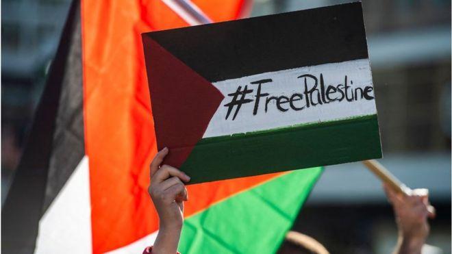 مظاهرات مؤيدة لفلسطين في برلين