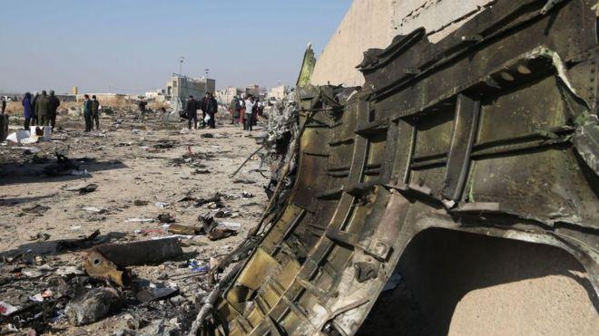 """Иранские военные: украинский """"Боинг"""" был непреднамеренно сбит, его приняли за вражеский объект"""