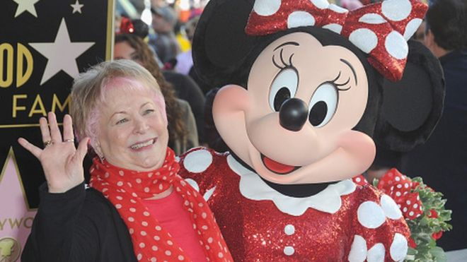 Russi Taylor Minnie Mouse Voice Actress Dies Aged 75 Bbc News