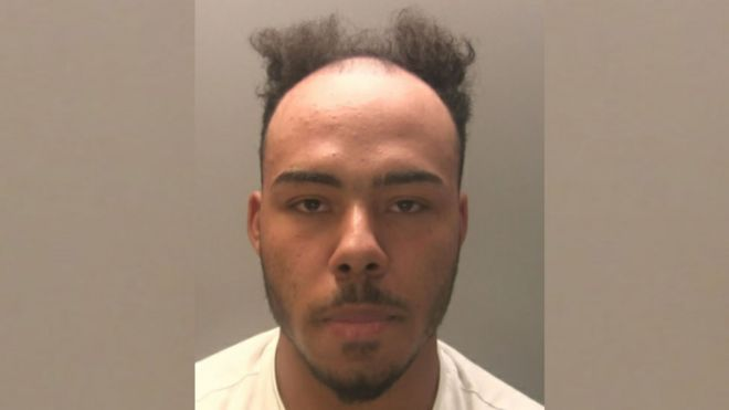 Gwent Police warn people mocking wanted Jermaine Taylor's hair - BBC