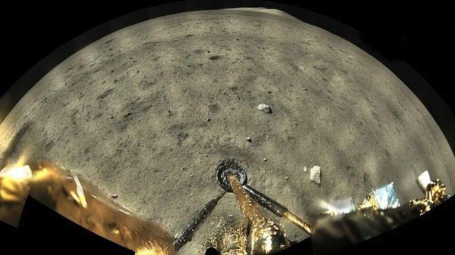 चांद की सतह