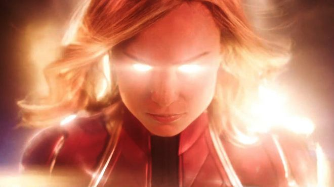 Bilderesultat for captain marvel