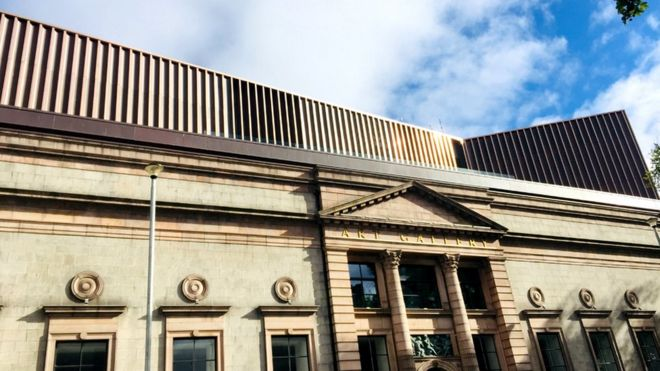 Redeveloped Aberdeen Art Gallery to open on 2 November - BBC