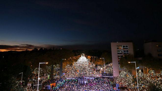 Барселона. 11 ноября 2017