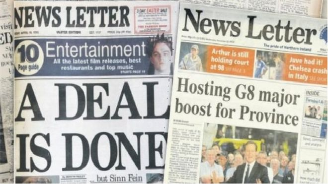 Johnston Press, owner of News Letter, puts itself up for ...