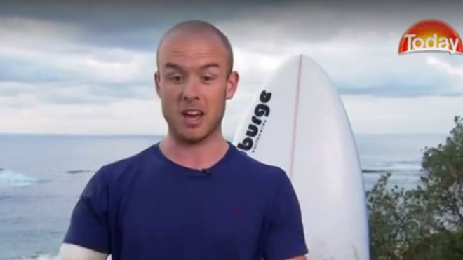 British doctor 'punches shark' in Australia surfing scare