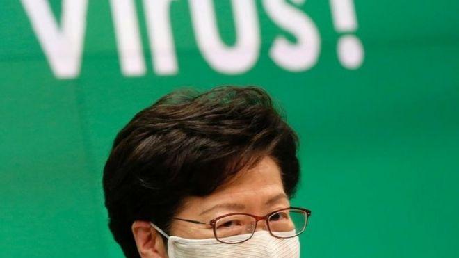 林郑月娥说,押后选举完全没有政治考虑。