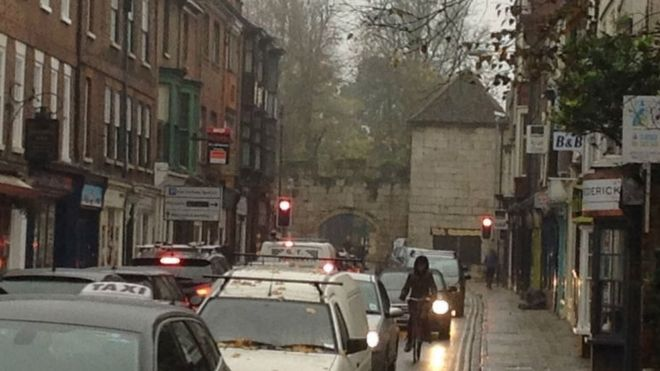 2 5m plans to improve york city centre traffic approved bbc news