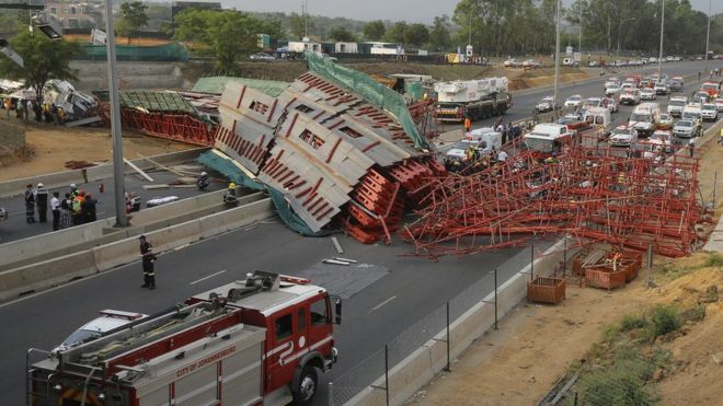 Image result for collapsed bridge south africa