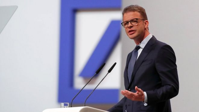 Deutsche Bank could cut up to 20,000 jobs - BBC News