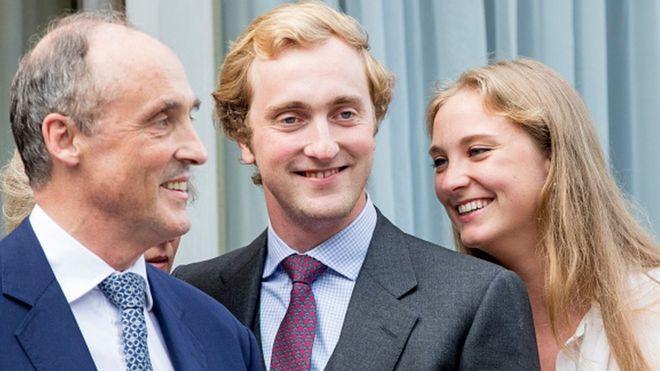 Prince Joachim of Belgium (C)