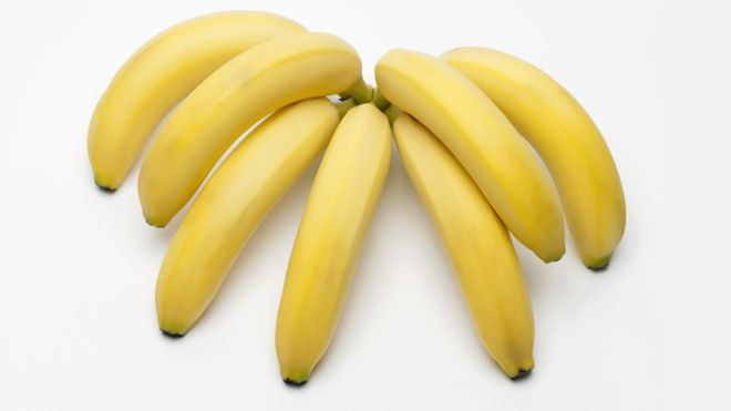 Bunch of seven bananas