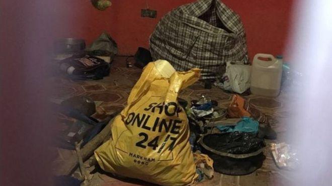 Cảnh sát tìm thấy nhiều phần thi thể người trong một cuộc đột kích vào nhà tên thầy lang