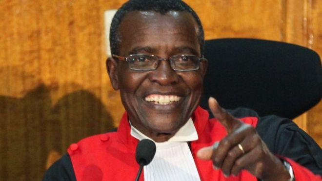 David Maraga: The brave judge who made Kenyan history - BBC News