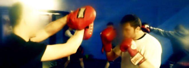 Treino de boxe - (vídeo de propaganda política da Ação Nacional)