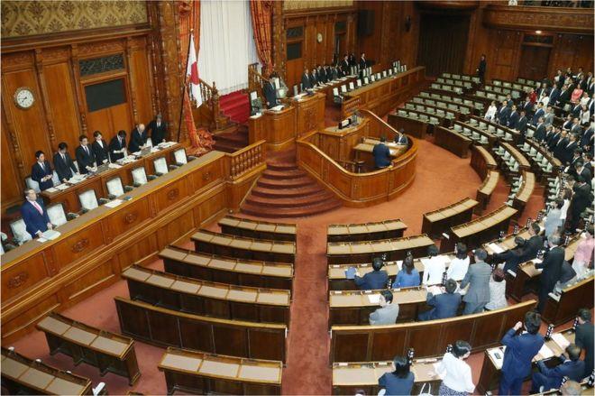 日本の国会、対テロ共謀罪の法案...