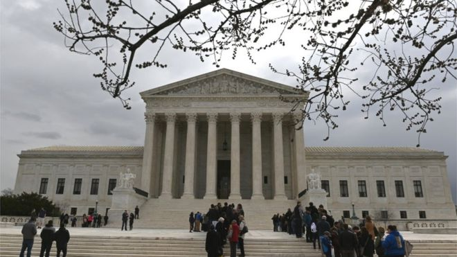 Supreme Court To Hear Special Education >> Supreme Court Sides With Trump On Immigration Detention Bbc News