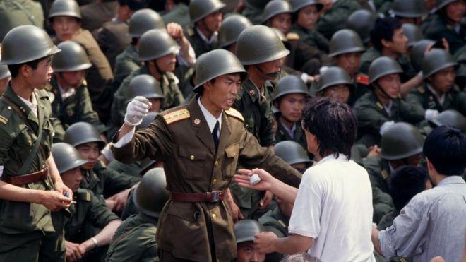 Протесты в Китае