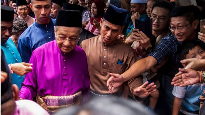 92歲的馬來西亞總理馬哈蒂爾重啟他的時代。
