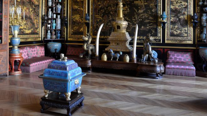 Chinese Museum at Fontainebleau Palace