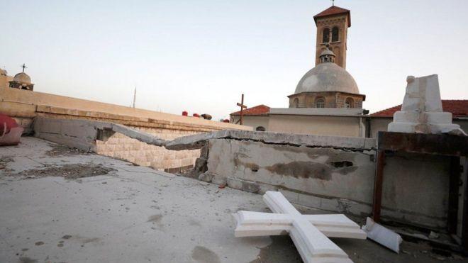 پرتاب خمپاره شورشیان به حومه دمشق ۹ کشته برجای گذاشت