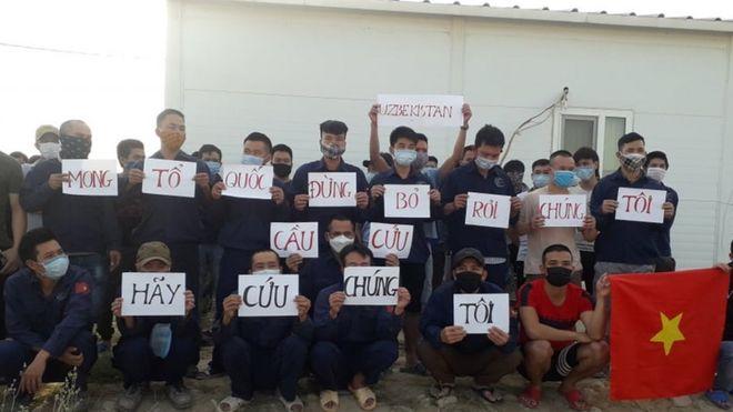 Nhóm công nhân người Việt ở Uzbekistan cầu cứu chính phủ Việt Nam
