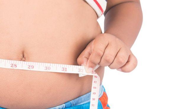 Человек с лишним весом