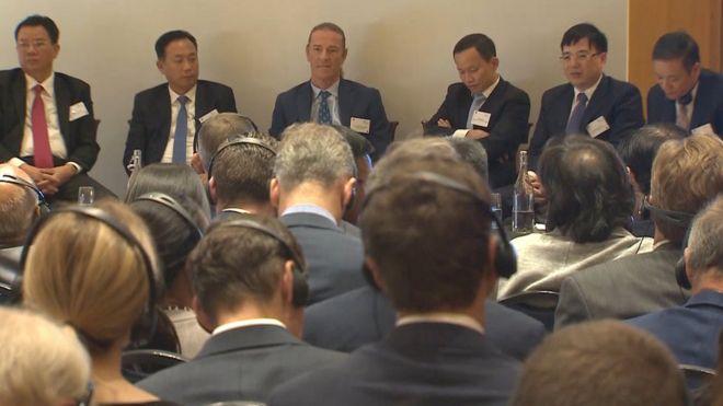 Giới đầu tư Anh tham gia một hội nghị xúc tiến đầu tư vào Việt Nam tổ chức tại London hôm 4/7/2019
