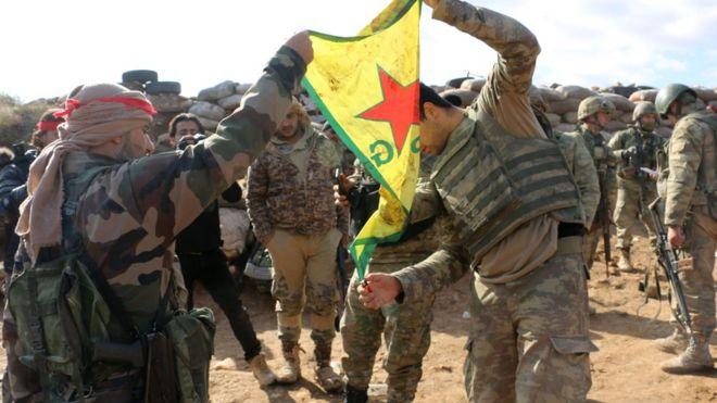 Reuters: Esad yönetimi Afrin'de Türklere karşı 'Suriyeli Kürtlere yardım ediyor'(13 Şubat 2018)